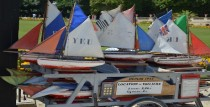 Pond Boats in Luxembourg Garden